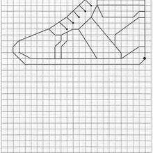 Shoe - Draw - HOW TO DRAW lessons - PATTERN of drawings