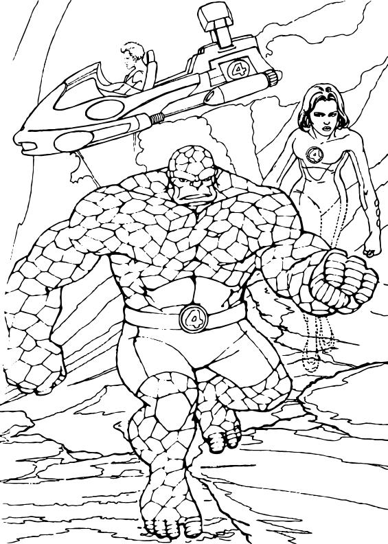 Ausmalbilder Marvel Helden Angel: Planet Zum Ausmalen