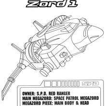 Space Patrol Zord 1