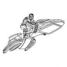 Power Rangers Flugzeug