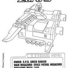 Space Patrol Zord 3