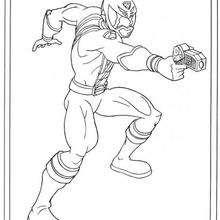 Power Ranger Pistolenschuss