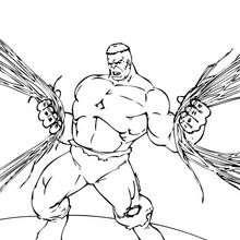 Hulk zerstört die Stadt
