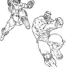 Hulk vs Grauer Hulk