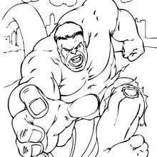 Hulk läuft