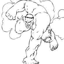 Hulk wird nervös