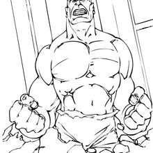 Hulk neben sich