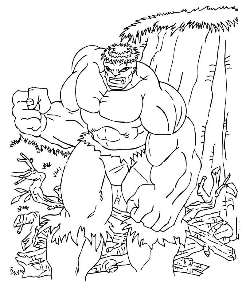 Ausmalbilder Hulk Hulk Zum Ausdrucken: Hulk Wird Sauer Zum Ausmalen
