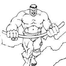 Bewaffneter Hulk