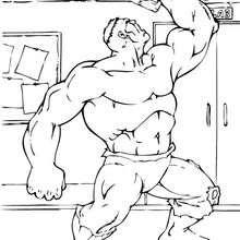 Hulk zerstört die Decke