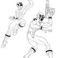 Bewaffnete Power Rangers