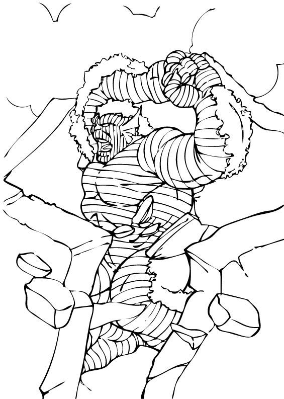 Hulk Bilder Zum Ausmalen: Abomination In Aktion Zum Ausmalen