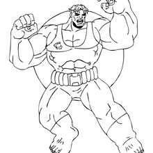 Riesiger Hulk