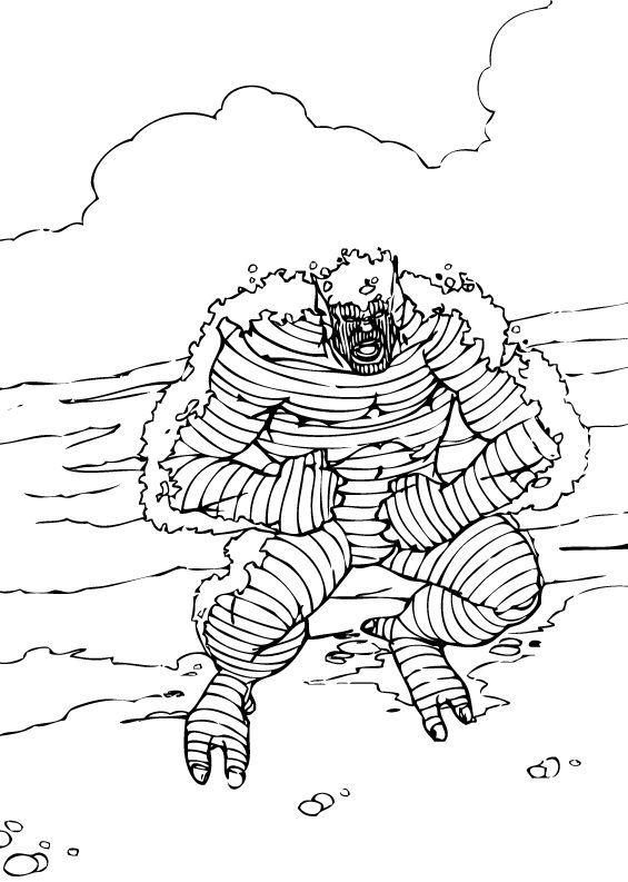 Hulk Bilder Zum Ausmalen: Böser Abomination Zum Ausmalen