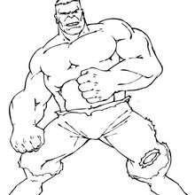 Hulk kämpft