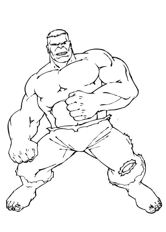 Ausmalbilder Hulk Hulk Zum Ausdrucken: Hulk Kämpft Zum Ausmalen