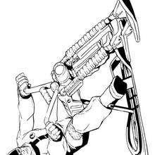 Action Man Motorrad
