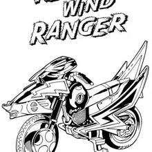 Das Motorrad der Power Rangers