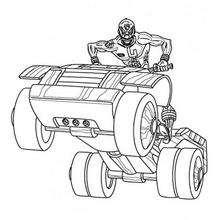 Power Rangers Fahrzeug