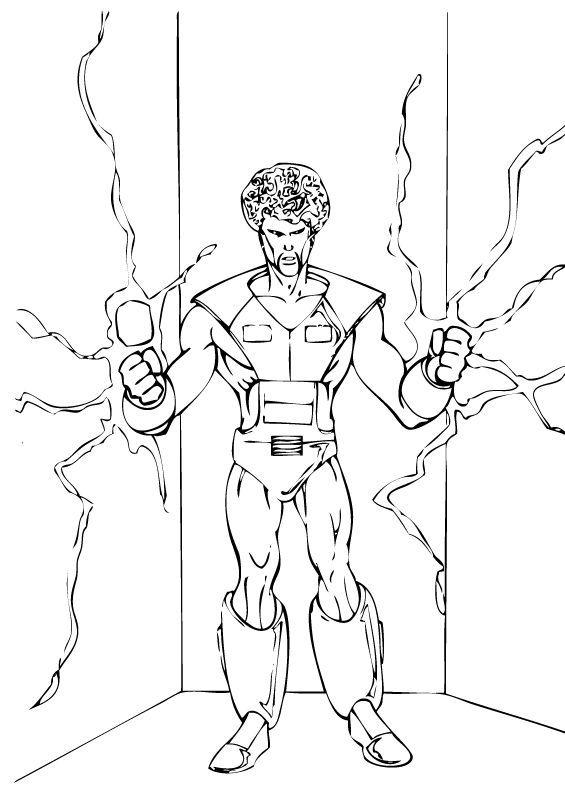 Hulk Bilder Zum Ausmalen: Hulks Verbündeter Zum Ausmalen