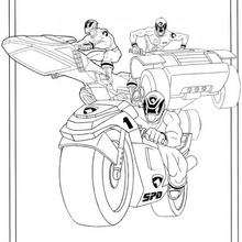 Power Ranger Fahrzeuge