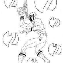 Ranger mit einer Laserwaffe