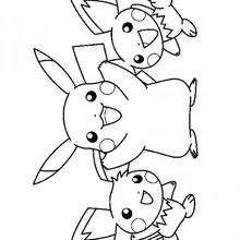 Pikachu Und Freunde Zum Ausmalen Dehellokidscom