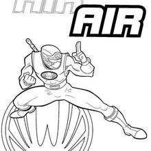 Power Ranger in Position
