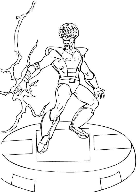 Ausmalbilder Marvel Helden Angel: Samuel Sterns Zum Ausmalen