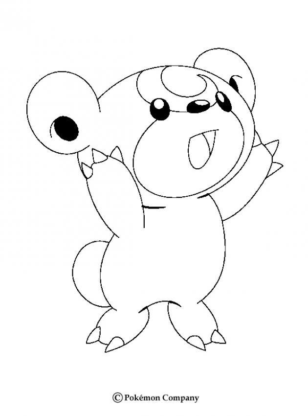 Teddiursa Pokemon Zum Ausmalen De Hellokids Com