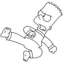 Bart kämpft