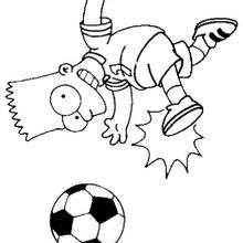 Bart spielt Fussball