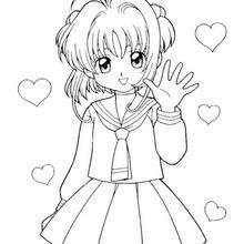 Sakura und Herzen