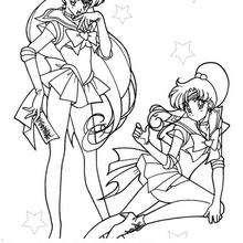 Zwei Kriegerinnen