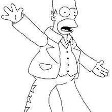 Homer macht den Flieger