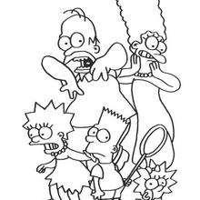 Gruselige Simpsons-Familie