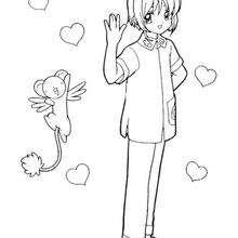 Sakura der Cardcaptor und Kereberus