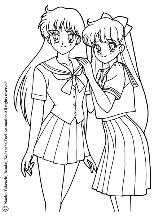 Sailor Moon Zum Ausmalen Ausmalbilder Ausmalbilder Ausdrucken