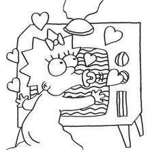 Maggie und der Fernseher