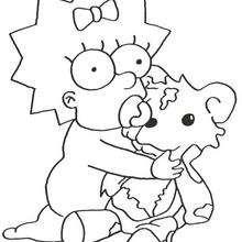 Maggie und ihr Teddybär