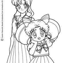 Marcy und Chibiusa