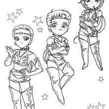 Kleine Sailor Kämpferinnen