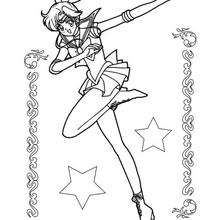 Sailor jupiter und sterne