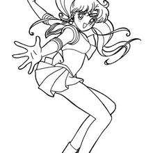 Sailor Moon in Aktion