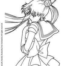 Sailor Moon ist traurig