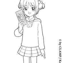 Sakura und die magische Karte