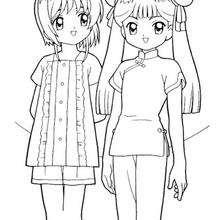 Sakura und Mailing Li