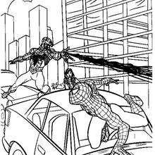 Venom duelliert mit Spiderman
