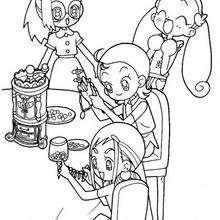 Die Hexenmädchen mit Schmuck