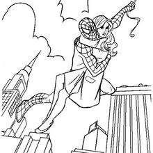 Spiderman und seine Freundin
